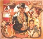 Indiana Jones Puzzle Card