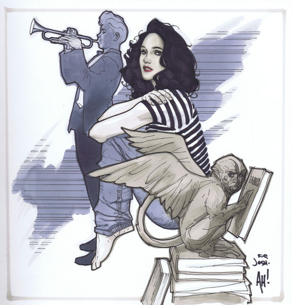Snow White and Boy Blue by AdamHughes