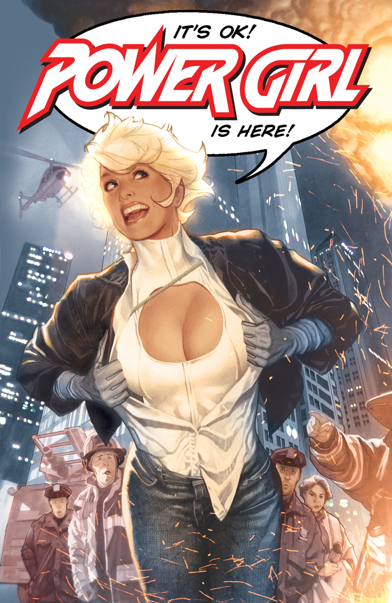 Power girl wedding