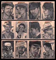 More Indy Sketch Cards