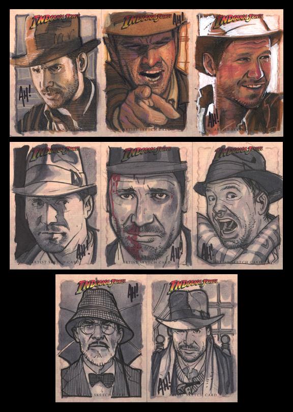 God, Still More Indy Cards by AdamHughes