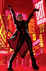 Catwoman 79 by AdamHughes