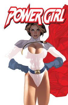 Power Girl Issue 2 Cover