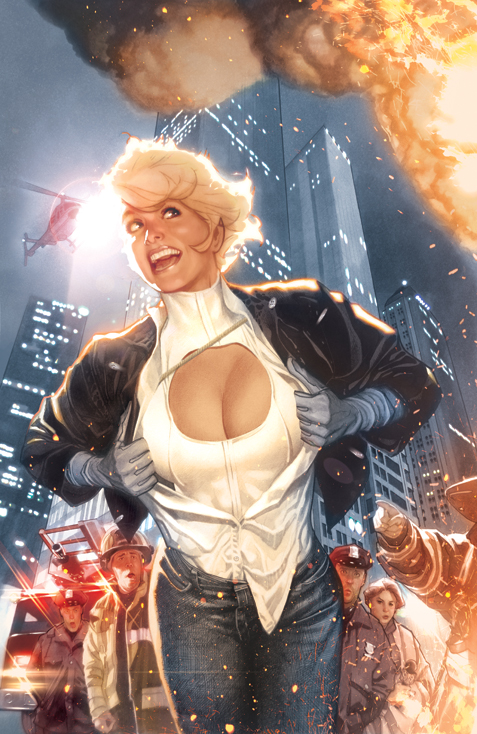 Power Girl No 1 Final Art