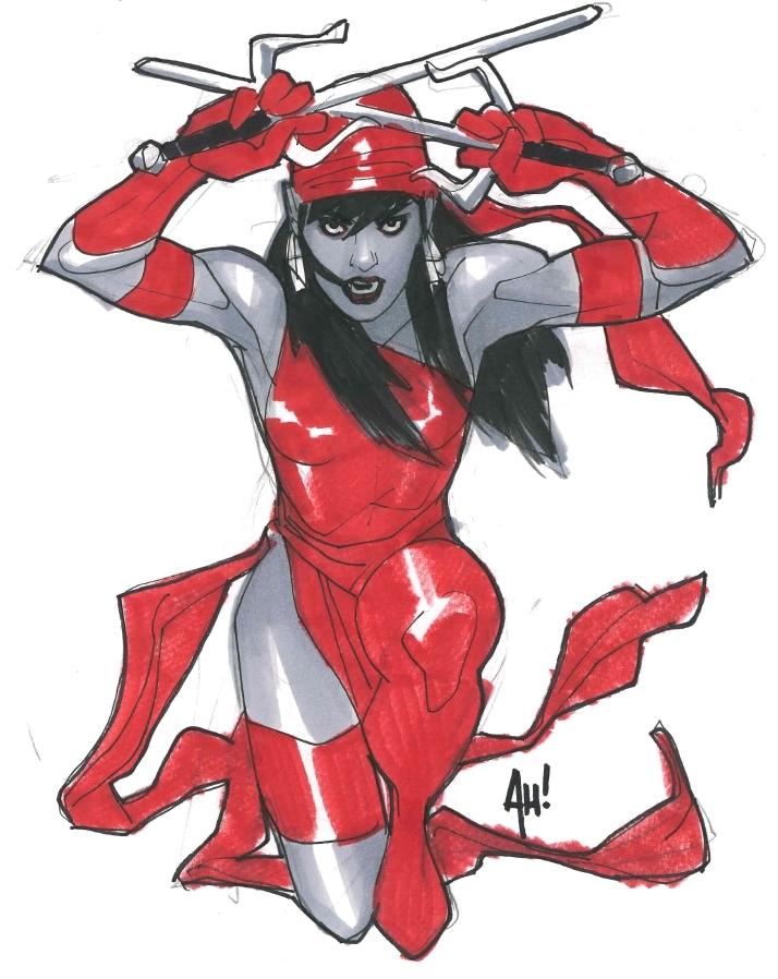 Elektra Con Sketch