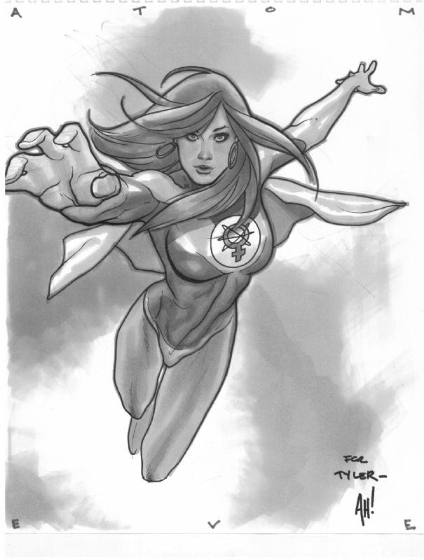 Atom Eve Convention Sketch by AdamHughes