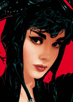 Catwoman 70 Cover Detail