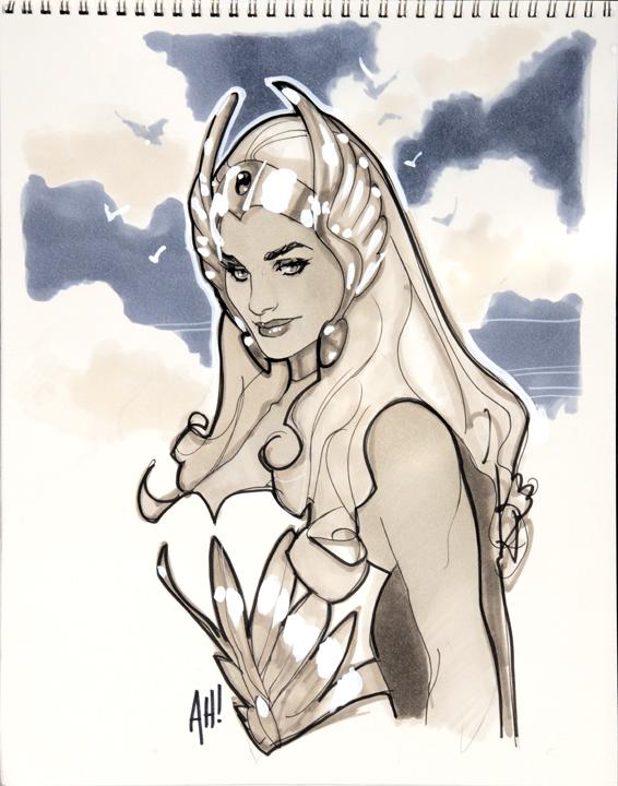 She-Ra by AdamHughes