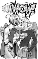 2009 Sketch Book Cover Art by AdamHughes