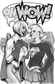 2009 Sketch Book Cover Art by AdamHughes