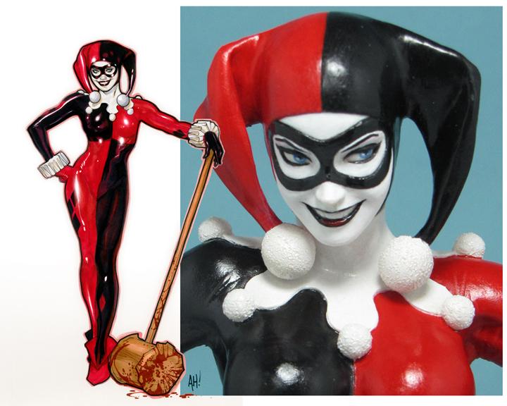 Harley Quinn Statue by AdamHughes