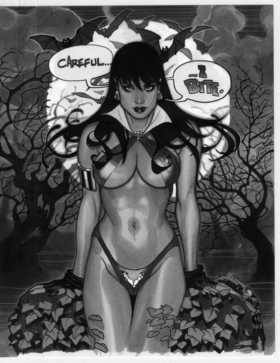 Vampirella by AdamHughes