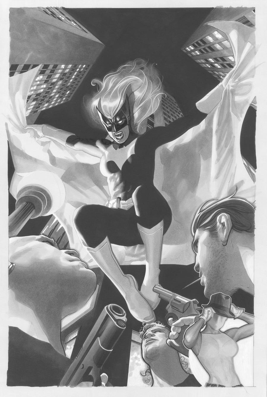 Batwoman Lineart