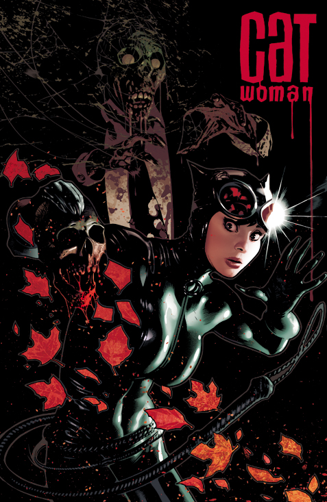 Catwoman 83 Cover by AdamHughes
