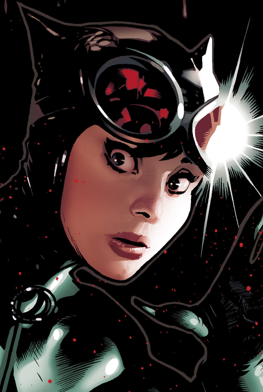 Catwoman 83 Detail