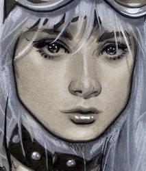 OESwoman Detail by AdamHughes