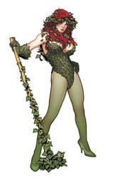 Poison Ivy Statue Design