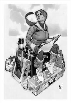 Sideshow Lara Croft Statue