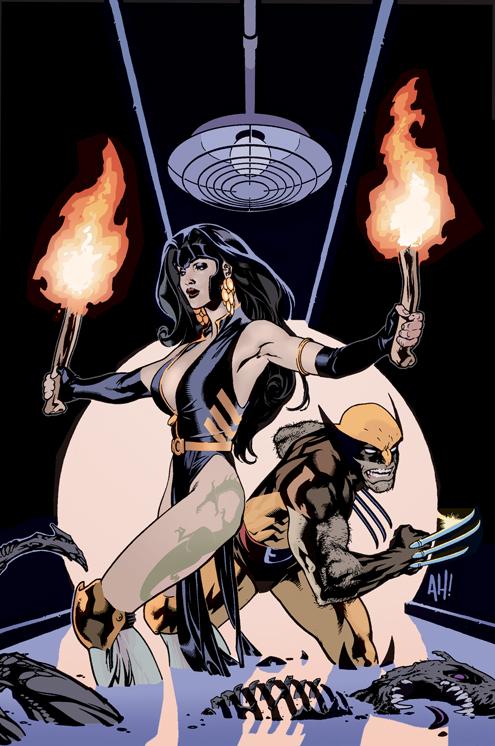 X-MEN WildCATS 3 by AdamHughes