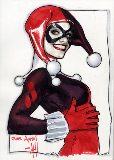Harley Sketch by AdamHughes