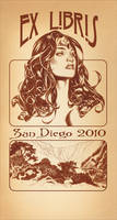 SDCC Bookplate