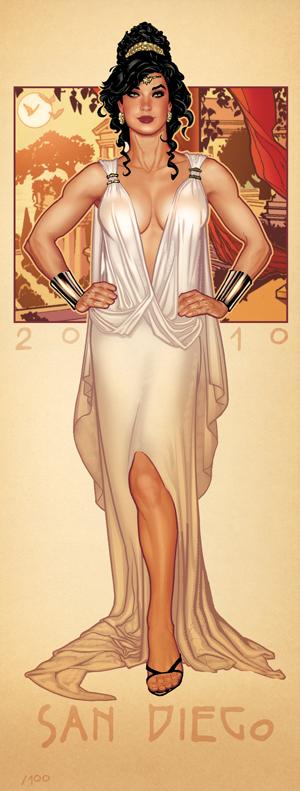 COVER RUN Wonder Woman by AdamHughes