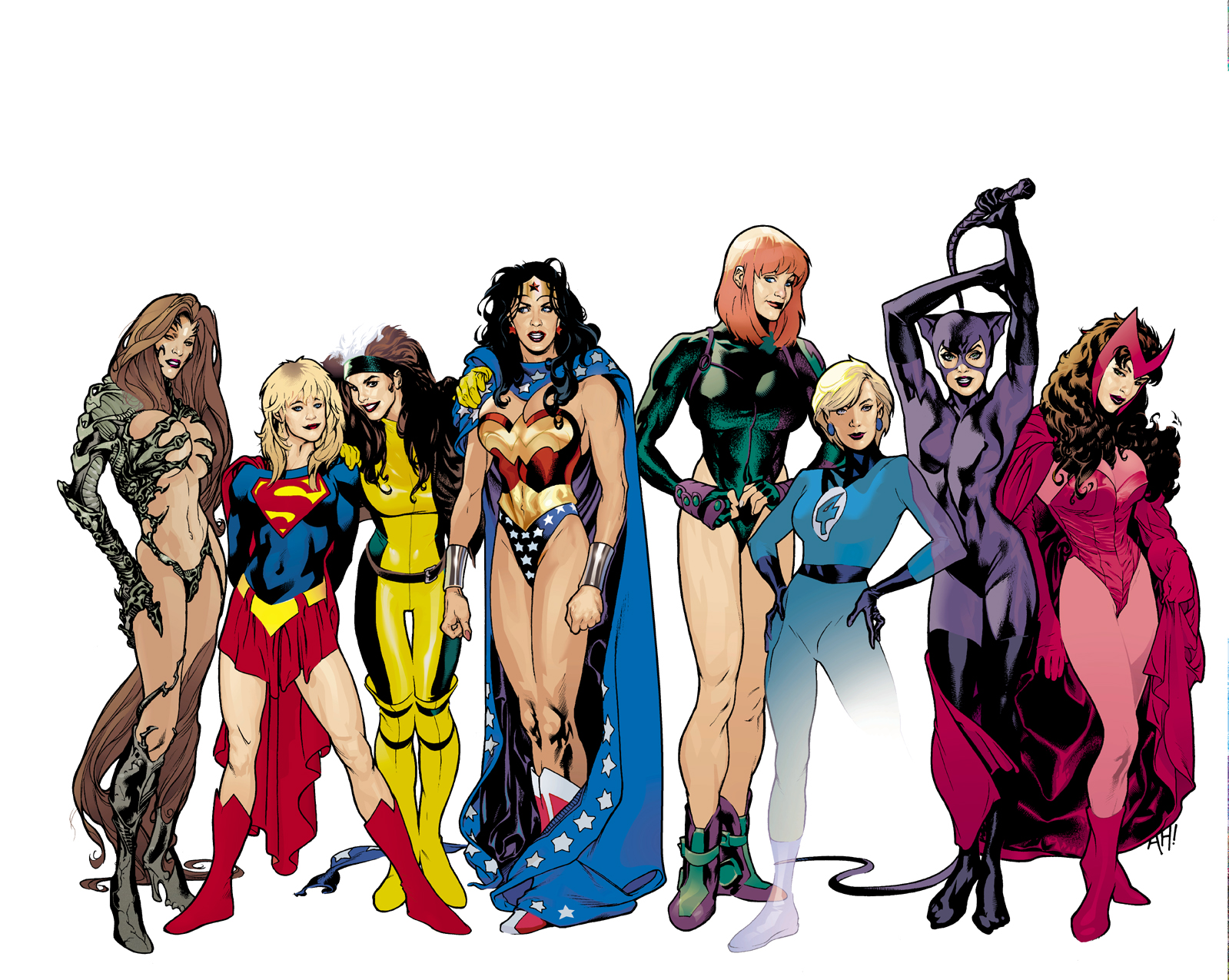 Dc pics females adult toons