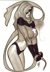 That's MISS Marvel, Thank You by AdamHughes