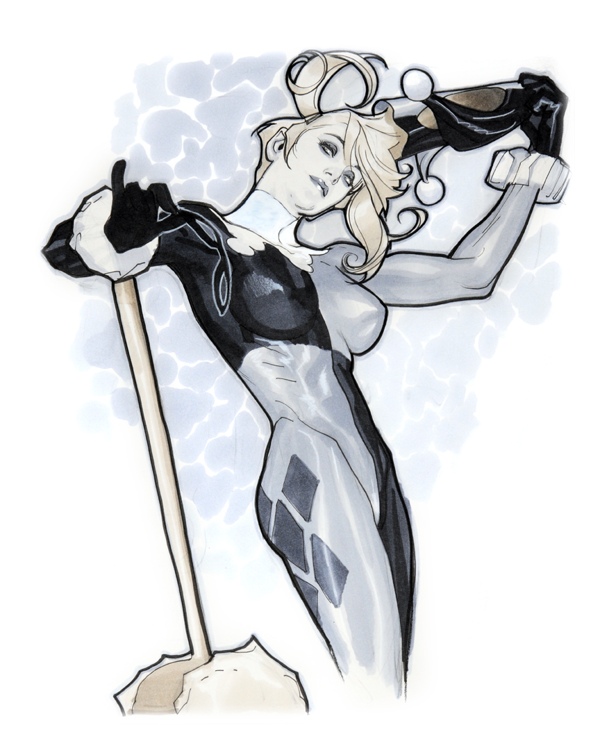 Harley Unmasked by AdamHughes