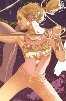 Wonder Girl Detail