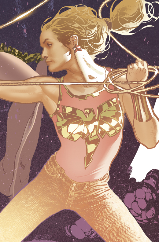 Wonder Girl Detail by AdamHughes
