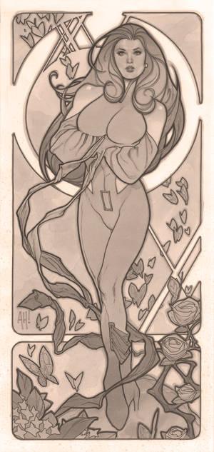 Art Nouveau Psylocke