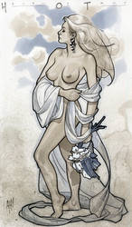 Helen of Troy by AdamHughes