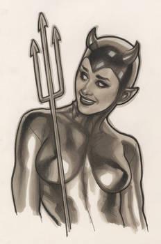 COPIC Devil Girl
