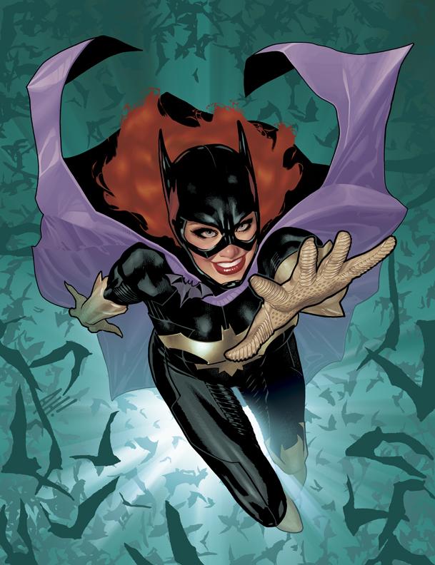 Batgirl Cover No 1 by AdamHughes