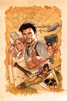 UNCHARTED Variant Cover 1