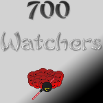 Thank you all for 700 watchers by TossarN