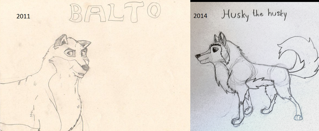 Balto style attempt by TossarN