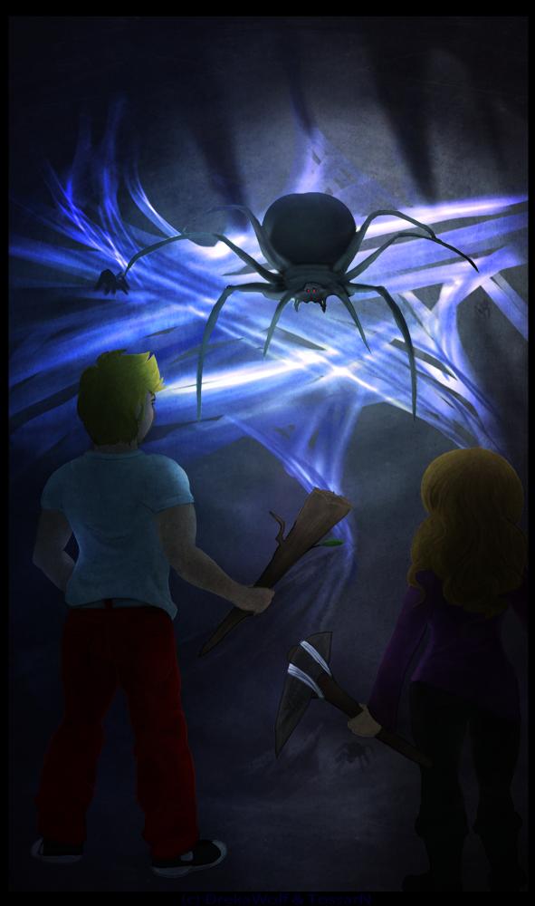 The spider nest-Australia Adventures by TossarN