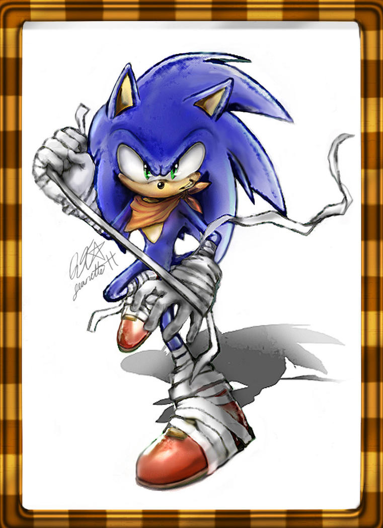 Sonic Boom Sonic by QT-Star