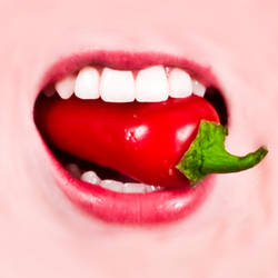a chilli in the mouth