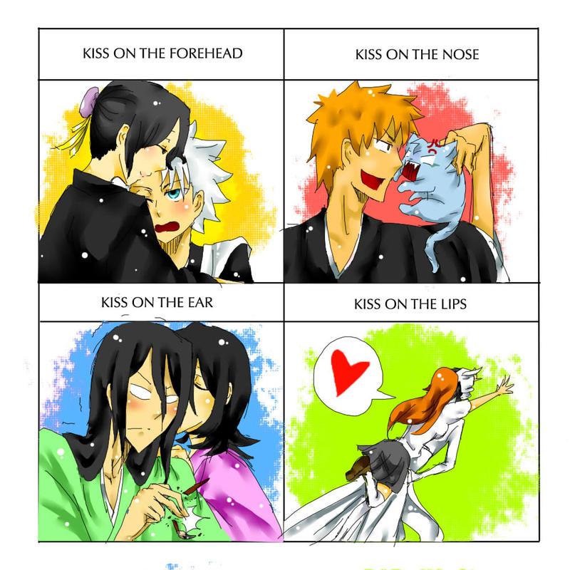 Cute Kiss Meme Bleach Ver By RedFishing On DeviantArt