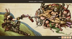 Borderlands 3 Fanart - The Creation of BoomBoom