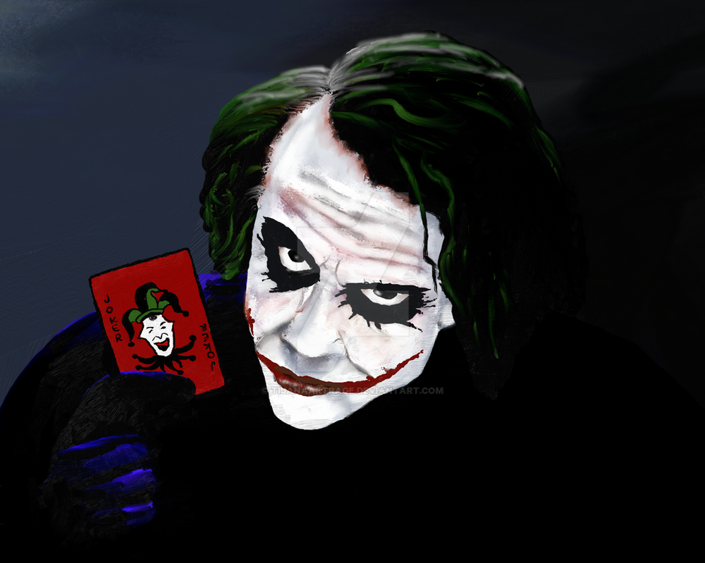 Joker by TijanaArtRage