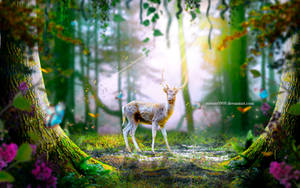 Forest Deer by mumu0909