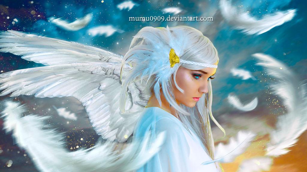 Fallen Angel by mumu0909