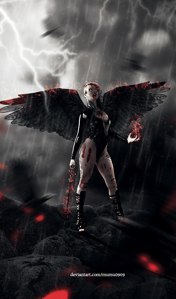 Angel Of Liberty by mumu0909