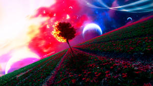 Cosmic Tree by mumu0909