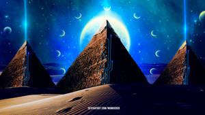The Pyramids by mumu0909