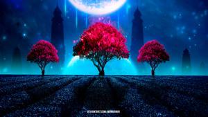 Universe Tree's by mumu0909